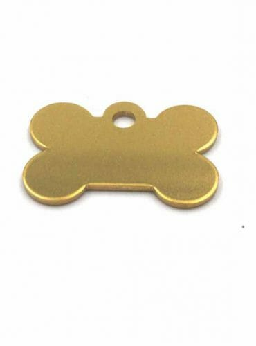 name tag for dog collar
