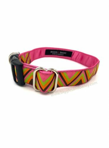 pink dog collar australia